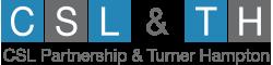 CSL Partnership and Turner Hampton Logo
